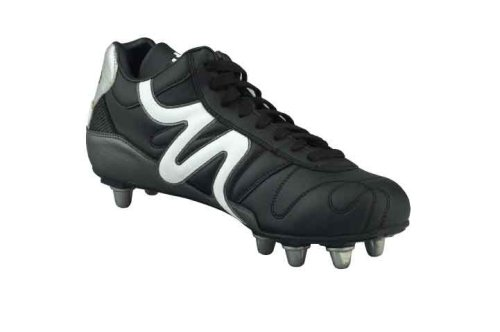 Mitre Mitre Italia Ii M Si Bc Rugby, Chaussures rugby hommes multicolore - Noir/Gris