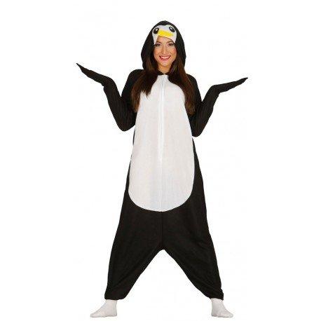 Imagen de disfraz de pijama pingüino talla l