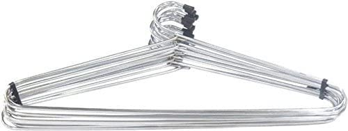 Spear Heavy Stainless Steel Cloth Hanger -Set of 12