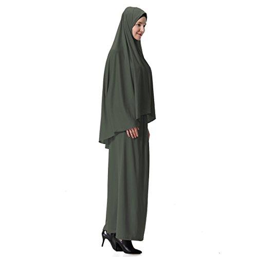 Gnaixeh Damen Muslim Großen Overhead Hijab Abaya Jilbab Islam Gebet Rock Für Hadsch Umrah - 2