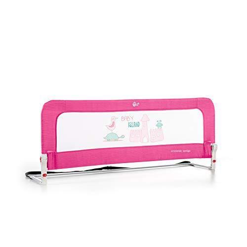 Innovaciones MS Barrera De Cama , Color Rosa, 150 Centímetros