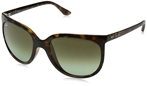 RAYBAN JUNIOR Damen Sonnenbrille Cats 1000 Havana/Green Gradient Brown 57
