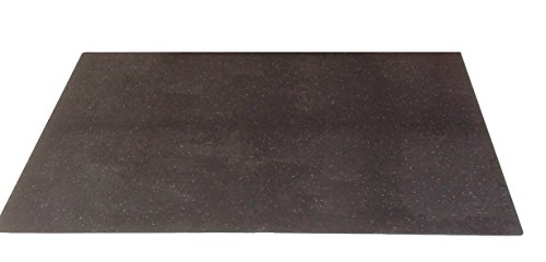 aruma® Schlagzeugboden Drum Mat, Teppich, Matte Abmessung 1200 x 1300 x 8 mm einteilig (Teppich 1200,)