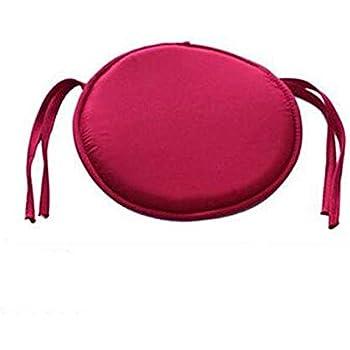 38 X 38 X 2CM Garden Patio Kitchen Dining SMARTRICH Seat Pads,Round Chair Cushions