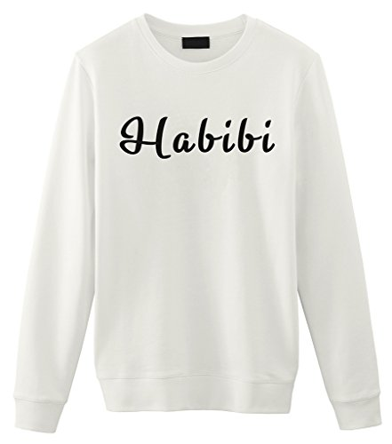 Fellow Friends Habibi Mens Sweater Medium White