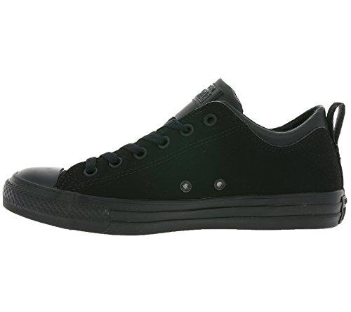 Uomo scarpa sportiva, colore Nero , marca CONVERSE, modello Uomo Scarpa Sportiva CONVERSE DUAL COLLAR OX Nero Black