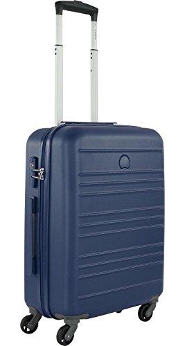Delsey Carlit luggage Trolley cabin 4R Slim 55 Blue