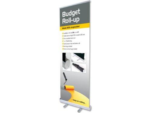 Bannerdisplay Roll Up Budget einseitig 60x200cm Banner Display Werbebanner 4549