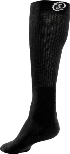 spalding-high-cut-socks-pack-of-2-black-size-46-50