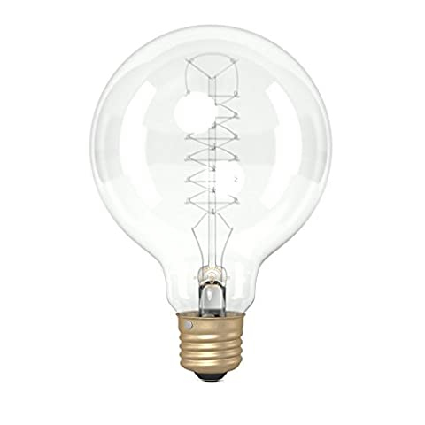 Globe G95, Spirale Filament Vintage Lampe