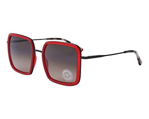 Etnia Barcelona Sonnenbrillen (TAHOE RDBK) kristall rot - matt schwarz - grau-braun verlaufend
