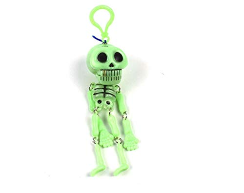 Beste Charm Anhänger Geschenk Lustiges Trick-Schädel-Skelett-Halloween-Modell-Spiel Keychain