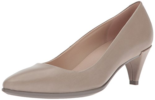 Ecco Damen Shape 45 Pointy Sleek Pumps, Grau (Moon Rock), 39 EU