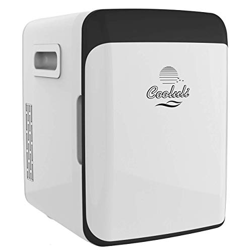 Cooluli Classic 10-Liter Compact Cooler/Warmer Mini Fridge For Cars, Road Trips, Homes, Offices And Dorms