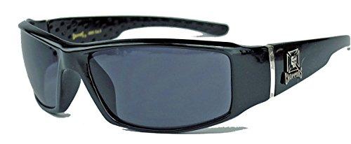 2er Pack West Choppers Locs Fahrradbrille Sonnenbrille Herren Damen braun weiß