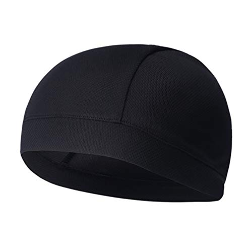 31QTAPdT4QL. SS500  - BESPORTBLE 2PCS Outdoor Riding Quick-drying Inner Cap Skull Cap Quick Dry Sports Sweat Elasticity Cycling Caps Headband…