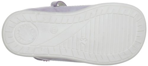 Bubblegummers Infant Leather Shoe With Diamante, chaussures layette fille Blanc - Blanc