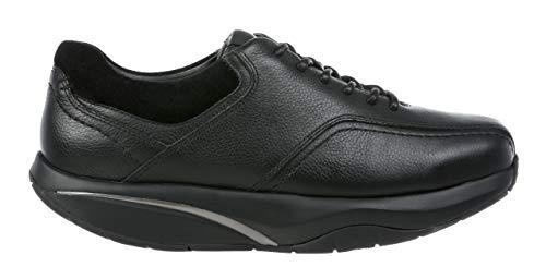 MBT 700993 Ajani M Hombre Zapatos de Cordones,de Caballero Zapato Equilibrio,Suela Curva,Black,46 EU