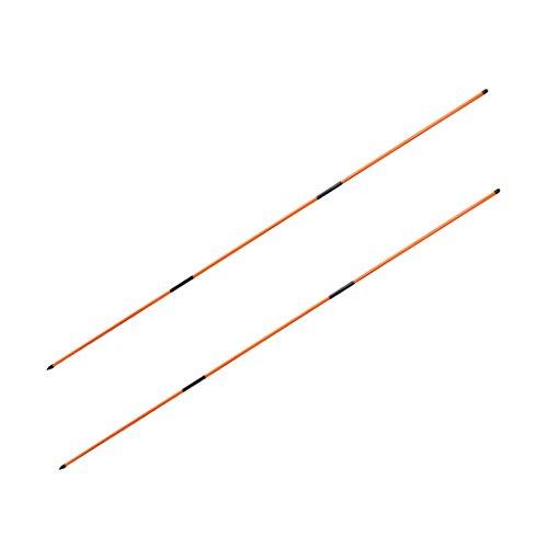Unbekannt 2er Set Premium Glasfaser Ausrichtungsstäbe Tour Alignment Sticks zum Trainieren