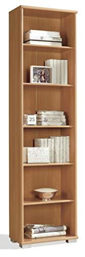 Miroytengo Estanteria librería 6 baldas Alta Salon