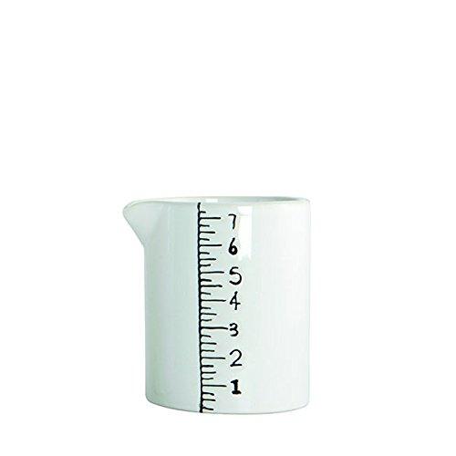 House Doctor en céramique Blanc Cruche Mesurer scandinave/Nordic
