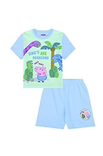 Peppa Kostüm Kinder Pig - George Pig Dino Schlafanzug für Kinder Peppa Pig (2-3 Jahre)