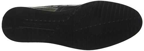 Bugatti 311454013035, Derbys Homme Noir (Black/ Grey)