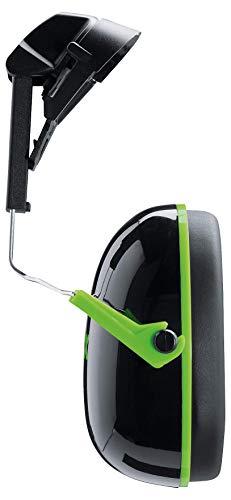 Uvex uvex2600201K1H Ohrenschützer, schwarz/grün