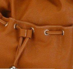 Alessandro NATURA 3321 Handbag Damen Henkeltasche mit Handyfach in 3 Farben ca. 32,0 x 33,0 x 11,0 cm Wei