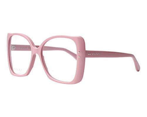 Gucci Damen Brillengestell Pink Pink Light 55