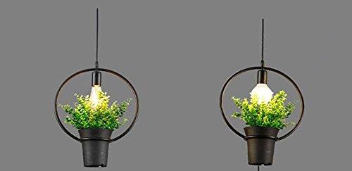 GBT Blumentöpfe Pflanze Kronleuchter Bar Restaurant Blumen Topf Töpfe , B (LED-Leuchten, warmes Licht, weißes Licht, Kronleuchter, Innenbeleuchtung, Außenleuchten, (Pflanze Im Kostüm Topf)