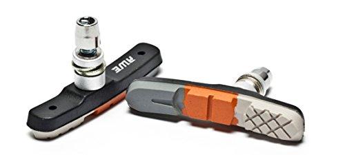 AWE® Triple Contour V pastiglie freno Grigio/arancio/bianco 72mm