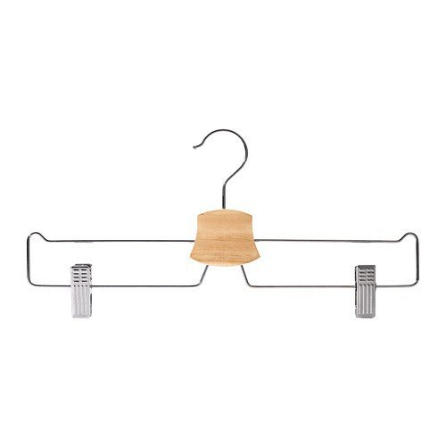 Ikea BUMERANG Rock-/Hosenbügel verchromt; 10 Stück