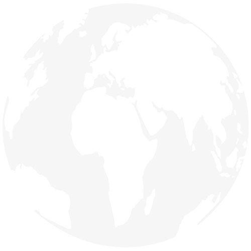 "Wandkings Wandtattoo \""Globus - Ozeane\"" 70 x 70 cm - Weiß - 35 Farben zur Wahl"