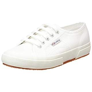 Superga 2750 Cotu Classic Mono, Unisex-Erwachsene Sneaker, Weiß (White 901), 39.5 EU (6 UK)