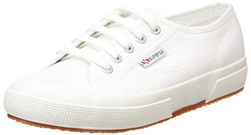 Superga 2750 Cotu Classic Mono, Unisex-Erwachsene Sneaker, Weiß (White 901), 41.5 EU (7.5 UK)
