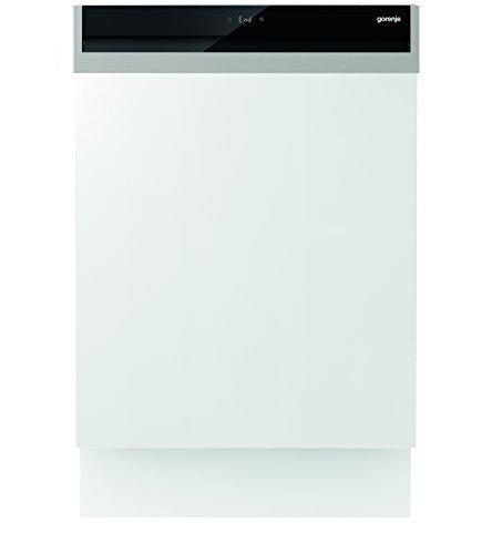 Gorenje GI 67260 XXL SmartFlex Superior/Integrierbarer Geschirrspüler/A+++/16 Maßgedecke/245 kWh/Jahr/59,6 cm/44 dB (A)/Total AquaStop/edelstahl