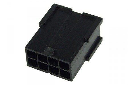 mod/smart VGA Power Connector 8Pin Buchse - Schwarz -