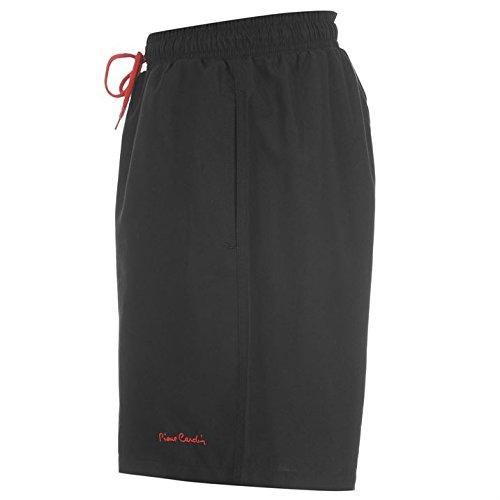 """Pierre CARDIN Damen Shorts """"Plain"""" Schwarz - Schwarz"""