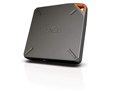 LaCie Fuel - Disco Duro inalámbrico 2 TB (USB 3.0), Color Gris