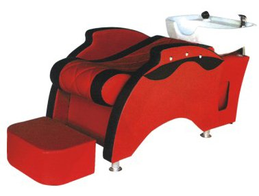 Bobo Angel Backwash Chair Salon Bowl Shampoo Equipment Sink Unit Double Drain Beauty Stylist Station BOSH029
