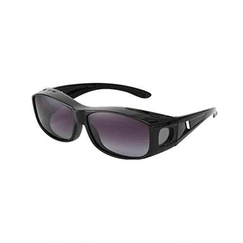 Honey Reiten Brillen Polarisierte Brille, Myopie Spezielle Spiegel Sets, Männer Und Frauen Anti-Wind-Sonnenbrille (Farbe : SCHWARZ)