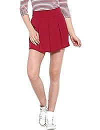 NUN Plum Red Mini Skirt