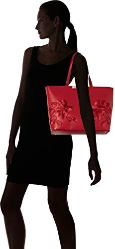 Guess Hwve6693230, Borsa a Mano Donna, 43 x 28 x 13,5 cm Multicolore (Lipstick)