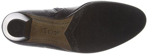 Gabor Enfield, Bottes Classiques Femme Noir (black Leather/patent Trim)