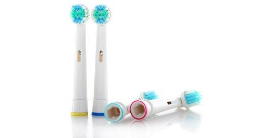 Compatibles Oral B - PACK 8 Recambios compatibles Oral B Precision Clean
