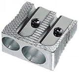 Bleistiftspitzer Metall Doppelt Keilform 20 Stück