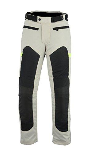 LOVO Pantalones perforados verano moto Unisex XL