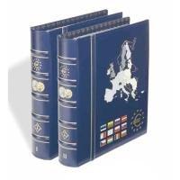 Vista Classic Euroalbum Band 1+2 im Set: Mit 2x6 Vista-Münzenblättern für 12 Euro-Länder (Set Classic 3 Pack)