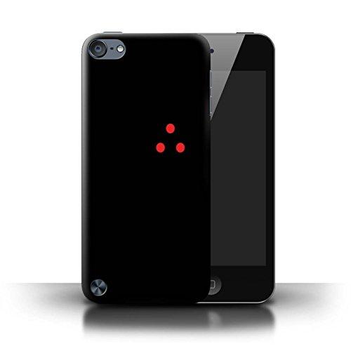 Stuff4® Hülle/Case für Apple iPod Touch 5 / Laserpunkte/Ziel Muster/Alien Jäger Filmkunst Kollektion